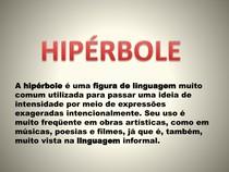 Hipérbole - Ester B