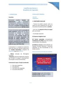 Bioquímica da Coagulação