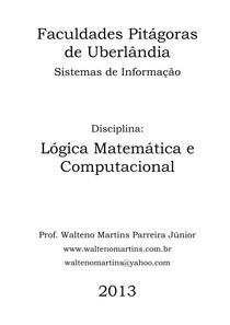 Lógica Matemática Computacional Lógica Matemática E Computac 4