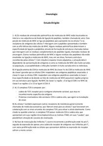 Questionário Imunologia 2