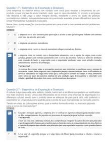 APOL 01 - SISTEMÁTICA DE EXPORTAÇÃO E DRAWBACK - COMÉRCIO EXTERIOR - UNINTER