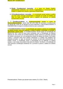 Resumo Direito Constitucional I (3)