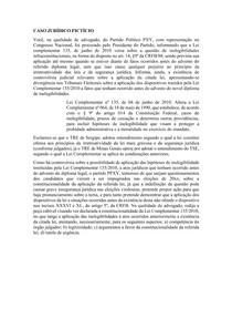 Peça Ação Declaratória de Constitucionalidade