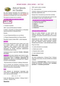 Flashcard - Operacoes com Mercadoria