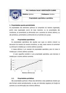 propriedades aperiódicas e periódicas