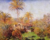 Small Country Farm In Bordighera-Claude Monet