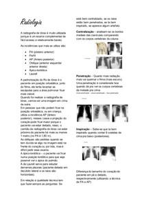 Radiologia - cardio