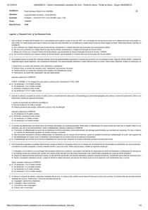 Avaliação I - Individual FLEX Língua Brasileira de Sinais - Libras MAT52