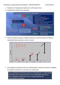 Implantodontia - Radiologia nas especialidades odontológicas