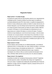 regras futebol