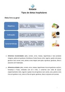 dieta tipos de dieta