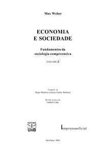 Economia e sociedade - Max Weber - vol2.