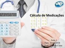 Cálculo de Medicação