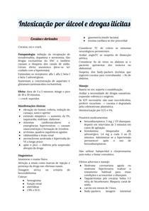 Urgência e emergência: intoxicação por álcool e drogas ilícitas