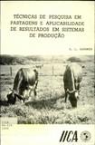Gardner, 1986. Técnicas de pesquisa em pastagens e aplicabilidade de resultados em sistemas de produção