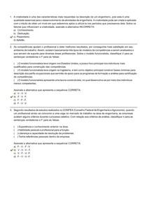 Introdução à Engenharia - Avaliação II - Individual FLEX