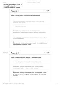 Prova Eletrônica_ Gestão de Contratos UNIDOMBOSCO