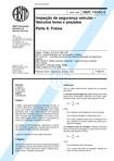 NBR 14040 06   1998   Inspeção de Segurança Veicular   Freios