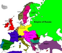 Europa 1908