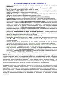 SISTEMA CARDIOVASCULAR PRIMITIVO EMBRIOLOGIA ATÉ 3 SEMANA