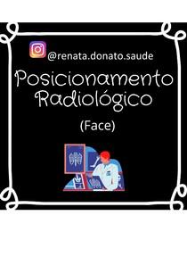 POSICIONAMENTO RADIOGRAFICO - FACE