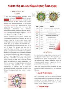 Característica e Diagnóstico de retroviroses [HIV e HTLV]