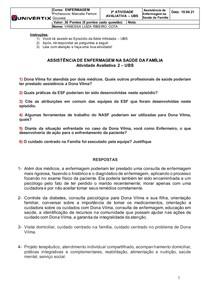 ATIVIDADE AVALIATIVA 2 - UBS