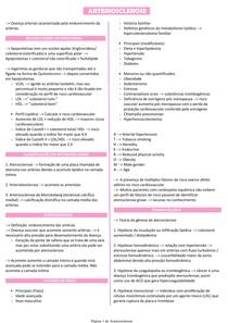 Arteriosclerose - Patologia