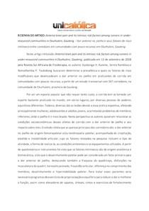 RESENHA DE ARTIGO-DOR NO JOELHO