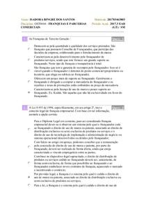Franquias 1
