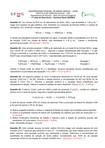1ª Lista de Exercícios – Química Geral (QUI003)