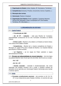 RESUMO CONSTITUCIONAL II
