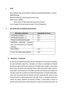 Template - Relatório de Estágio - GESTÃO