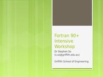 Fortran 90 1 - Computação