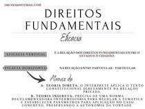 DIREITOS FUNDAMENTAIS: EFICÁCIA VERTICAL E HORIZONTAL