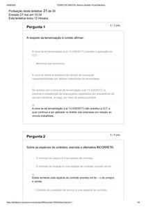 histórico de teste_ Prova Eletrônica GESTÃO DE CONTRATO UNIDOMBOSCO
