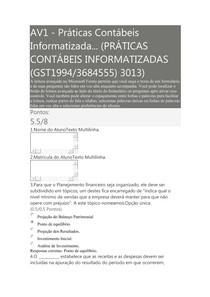 AV1 praticas contabeis inforatizadas