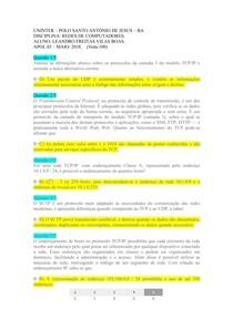 APOL 03 REDES DE COMPUTADORES2018