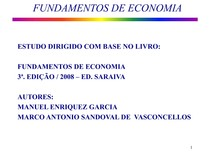 Fundamentos de Economia - Parte 1