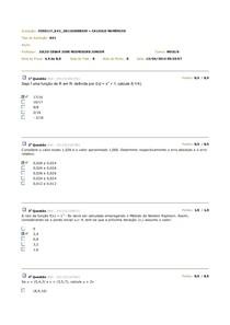 Avaliação AV1/  AV2 / AV3 - 2014