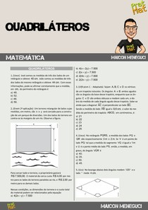 LISTA DE QUADRILÁTEROS