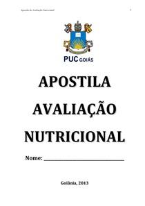 APOSTILA DE AVALIAÇÃO NUTRICIONAL.pdf