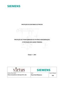 Proteção de Sistemas Elétricos   SIEMENS