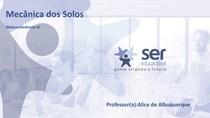 Mecânica dos Solos-Prof Alice de Albuquerque - 4ª webconferência - Mod B