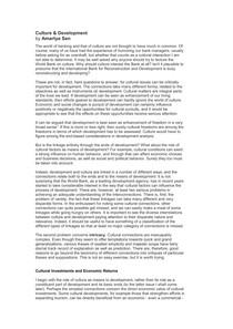 Amartya Sen - Culture and Development