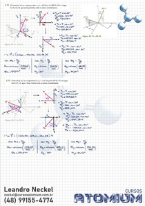 Exercício Decomposição de Força 3D - Beer Johnston 11ed Cap2 Ex2.71 e Ex2.72