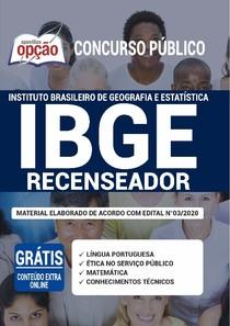 Apostila Opção IBGE Recenseador