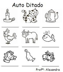 auto ditado silabas simples 6