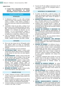 ALEITAMENTO MATERNO, ICTERÍCIA NEONATAL, SISTEMA IMUNE DA CRIANÇA, MORTALIDADE INFANTIL