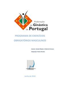 GA - PROGRAMA DE EXERCÍCIOS OBRIGATÓRIOS MASCULINOS